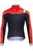 Sportful Bodyfit Pro WS Jacket Men Black/Fire Red/Silver